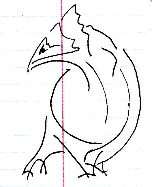Большой и важный птиц